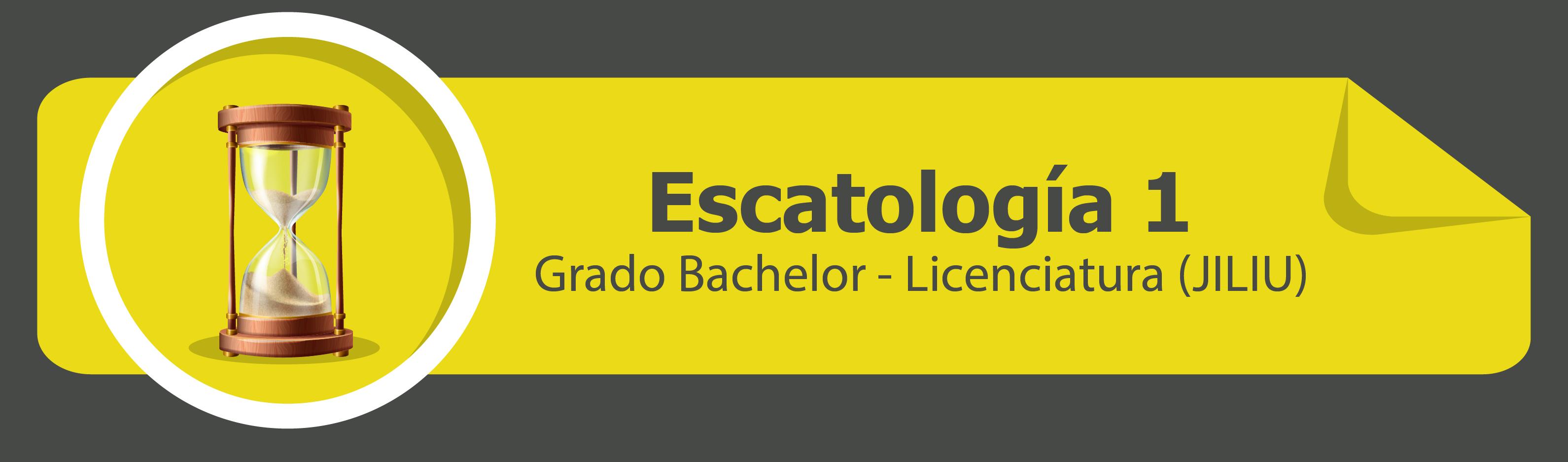 Escatología 1